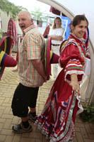 Mexicaanse dansje met publiek
